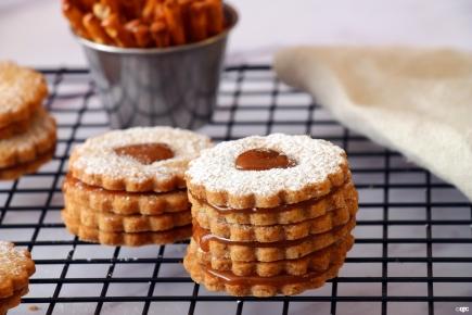 עוגיות בייגלה וקרמלמלוח