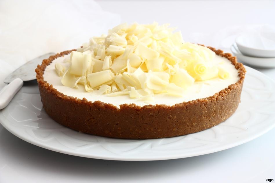 עוגת ליים, גבינה ושוקולד לבןקפואה